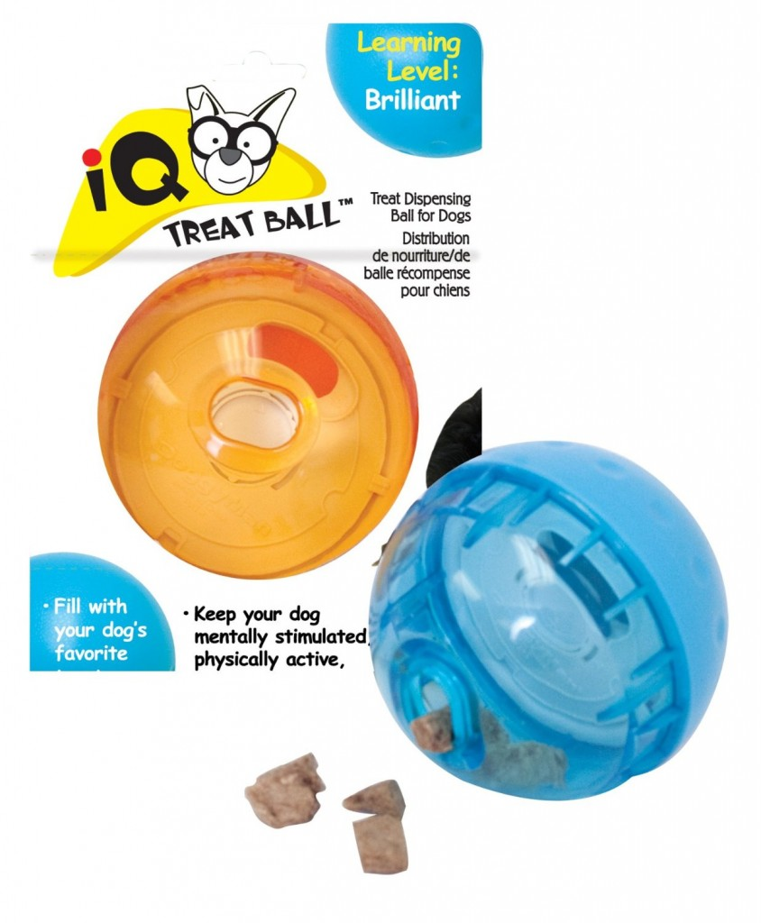 dog toys that dispense food