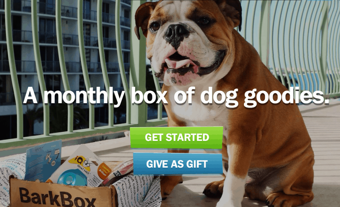 ae28591e Everyone has been howling over BarkBoxes this year, as more owners signup  for these canine care packages.