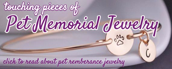 learn about pet memorial jewelry