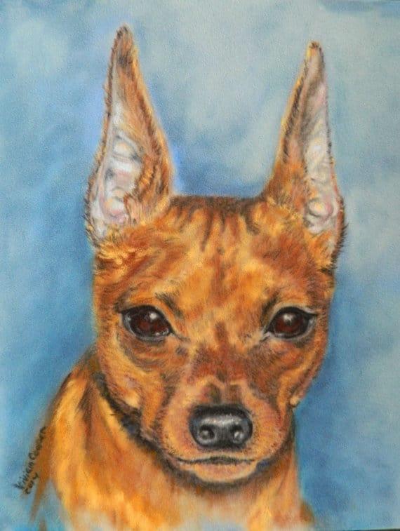 pet portraits pastel