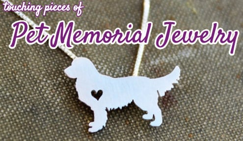 9 touching pieces of pet memorial jewelry best pet memorial jewelry aloadofball Images