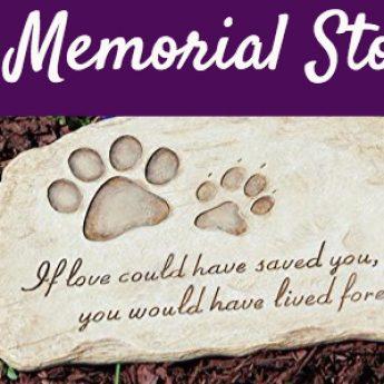best pet memorial stones