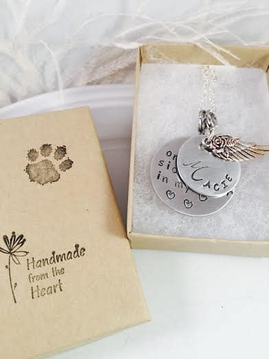 9 touching pieces of pet memorial jewelry pet memorial jewelry engraved aloadofball Images