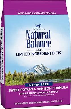 Natural Balance Sweet Potato & Venison Dry Dog Food