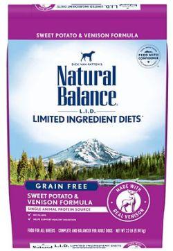 Natural Balance Venison Dog Food