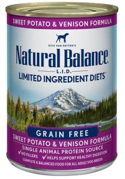 Natural Balance Wet Venison Dog Food