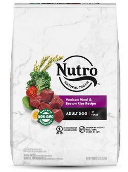 Nutro Venison Dog Food