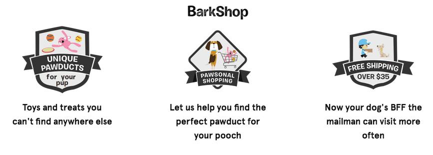 barkshop goodies