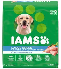 IAMS large breed dog food