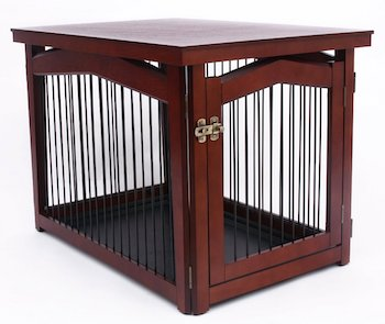 Perfect ... Dog Crate End Table