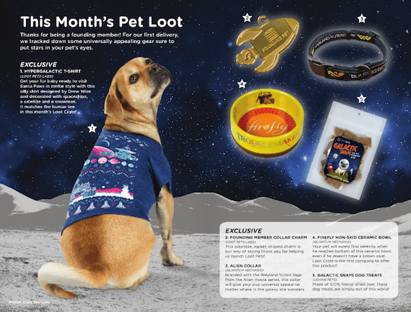 loot pets subscription