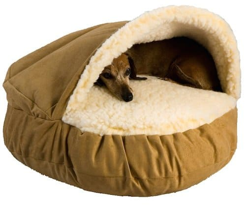 Covered Dog Beds Small Dogs
