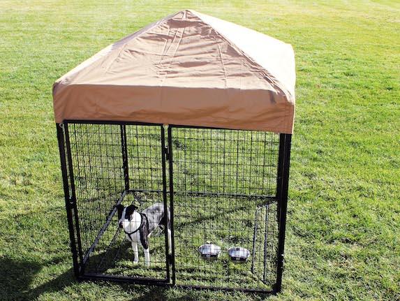 complete dog kennel