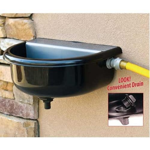 outdoor dog waterer