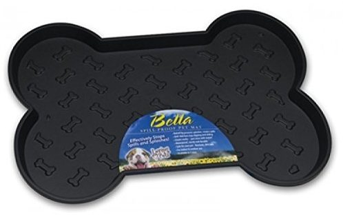 about the loving pets bella spill proof dog mat is a piece of plastic that sits under your dogu0027s bowls taking the brunt of the mess when your dog getu0027s