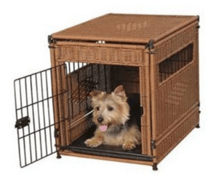 puppy pad crate training