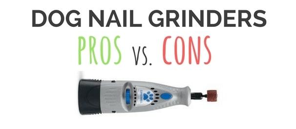 dog nail grinder vs clipper