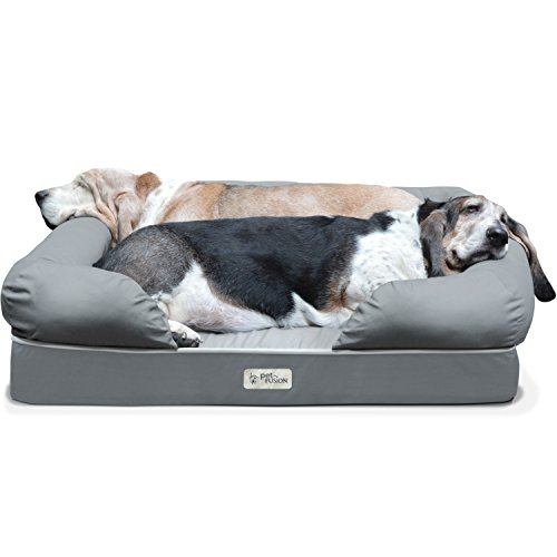 4 best dog beds with bolsters: beds with borders!