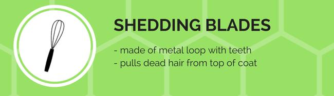 shedding blade grooming tool