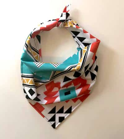 dog tribal bandana