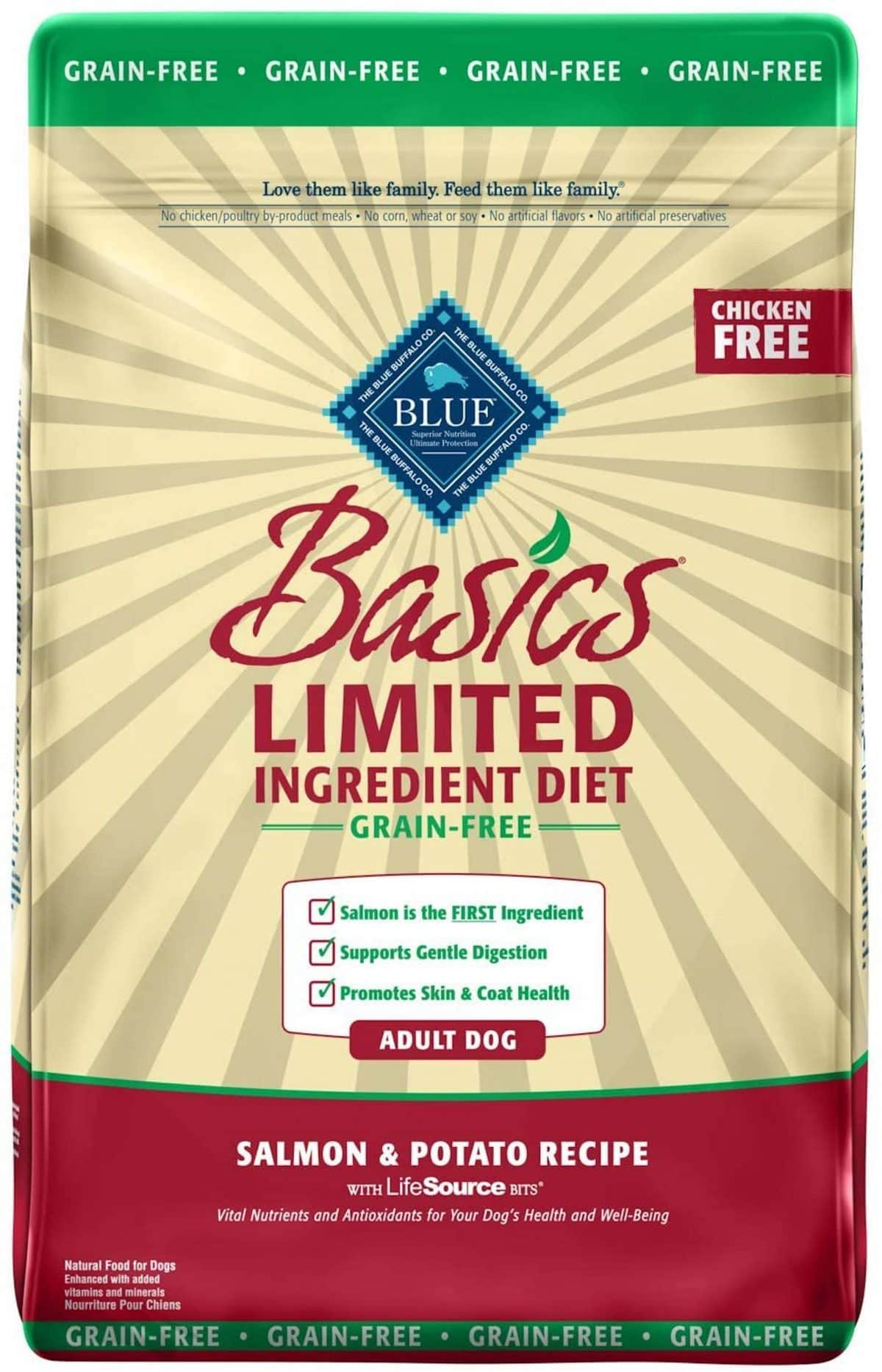 Blue Buffalo Basics Limited Ingredient Grain-Free Salmon & Sweet Potato