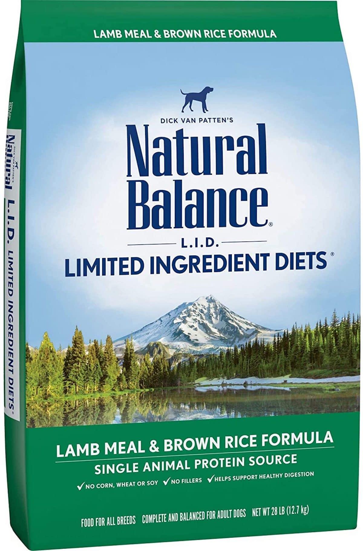 Natural Balance Lamb and Brown Rice Formula
