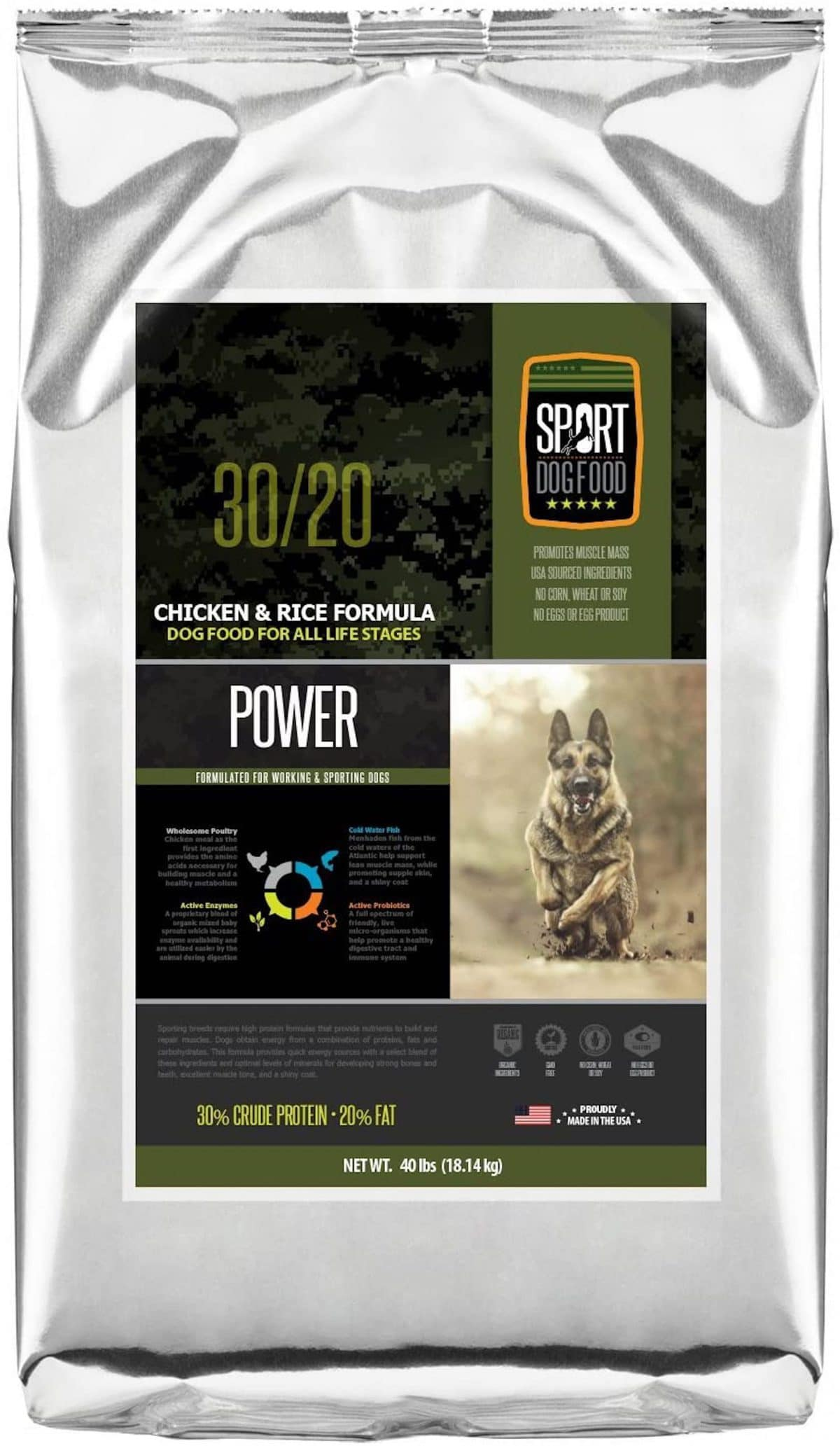 SportDogFood Canine Athlete Formula Dog Food