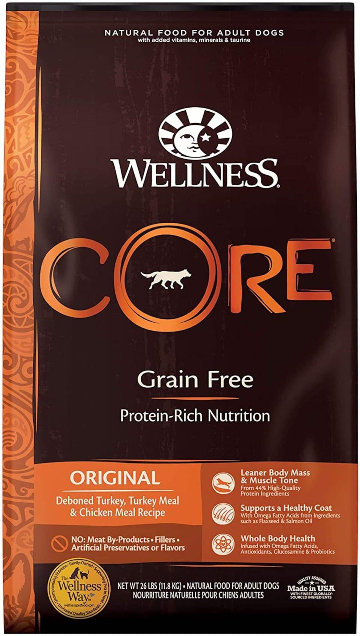 Wellness CORE Natural Grain-Free Dry Dog Food