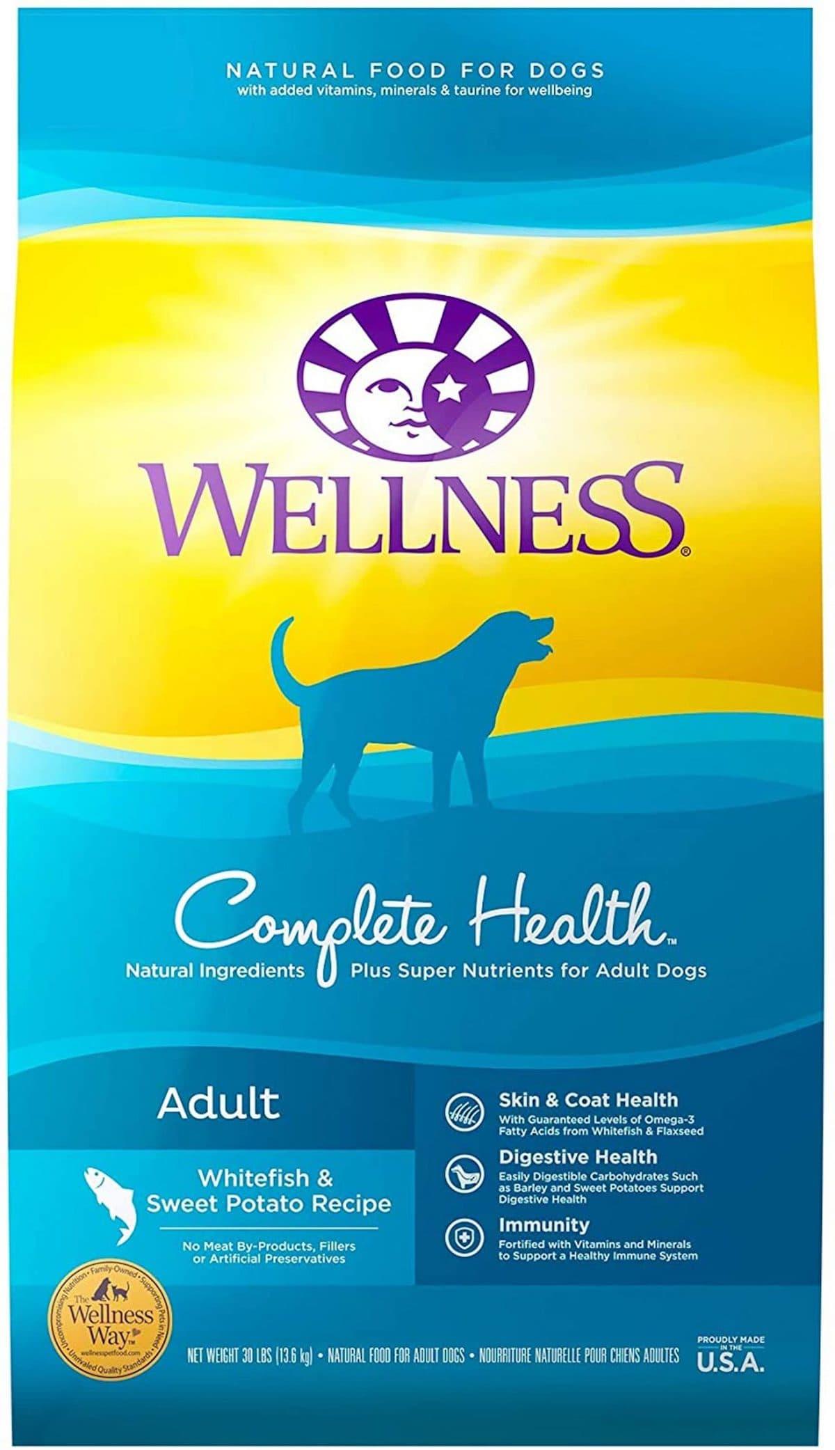 Wellness Complete Health Whitefish & Sweet Potato