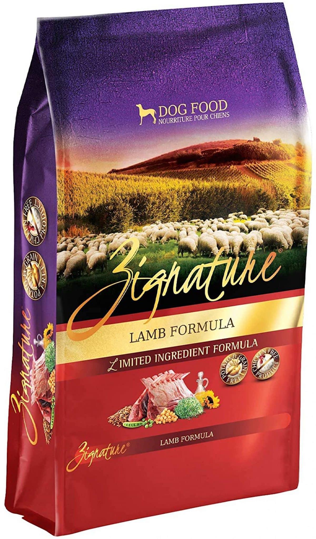 Zignature Grain Free Lamb Dry Dog Food