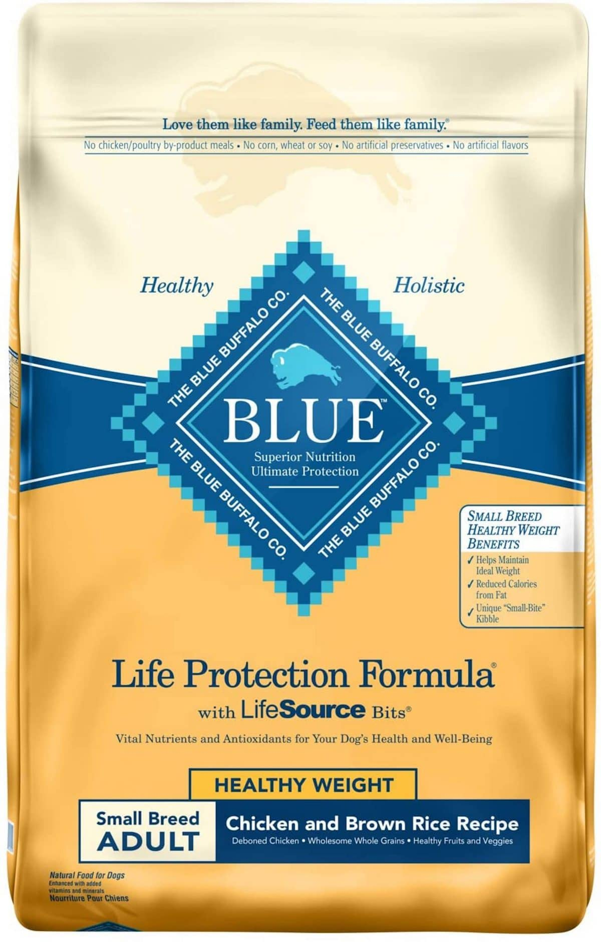 Blue Buffalo Life Protection Small Breed Fish & Brown Rice
