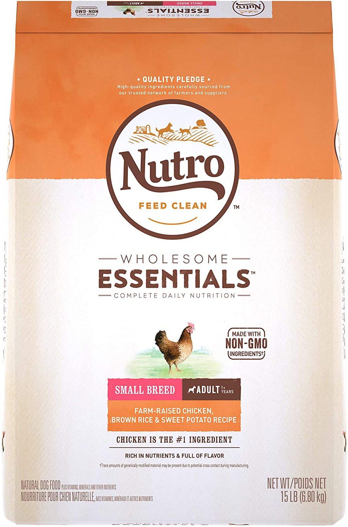NUTRO Adult Small Breed Dog Food