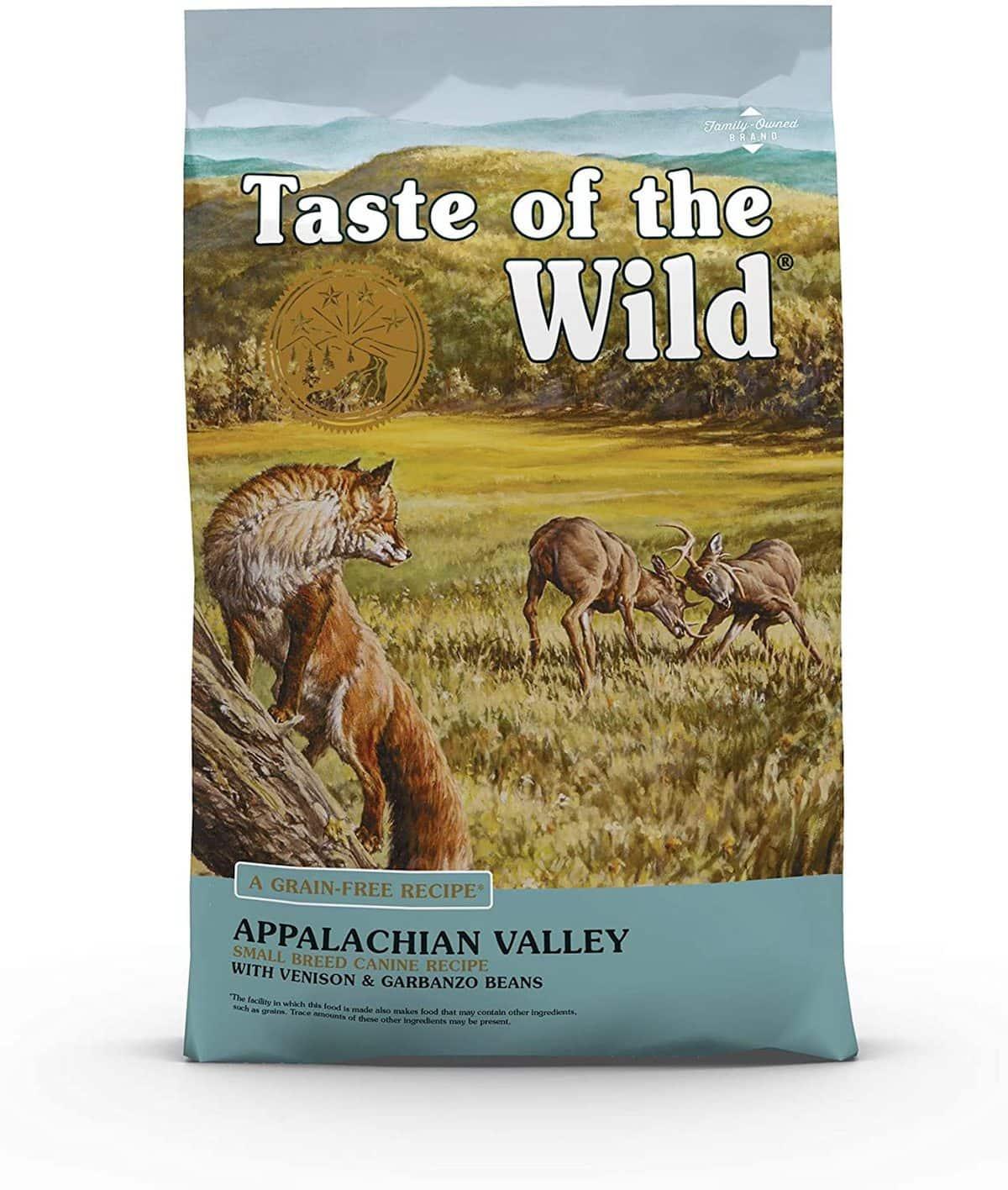 Taste of the Wild Appalachian Flavor Small Breed Dog Food