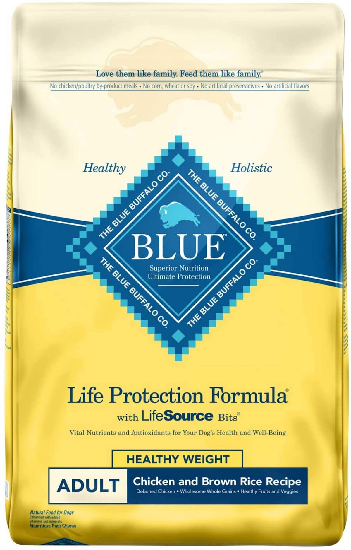 4. Blue Buffalo Life Protection Healthy Weight