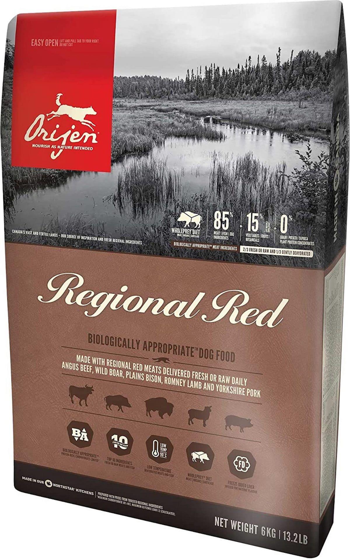 Orijen Regional Red for Dogs