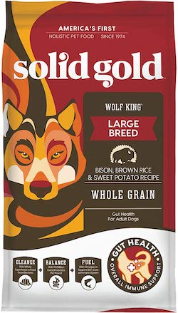 Solid Gold Wolf King