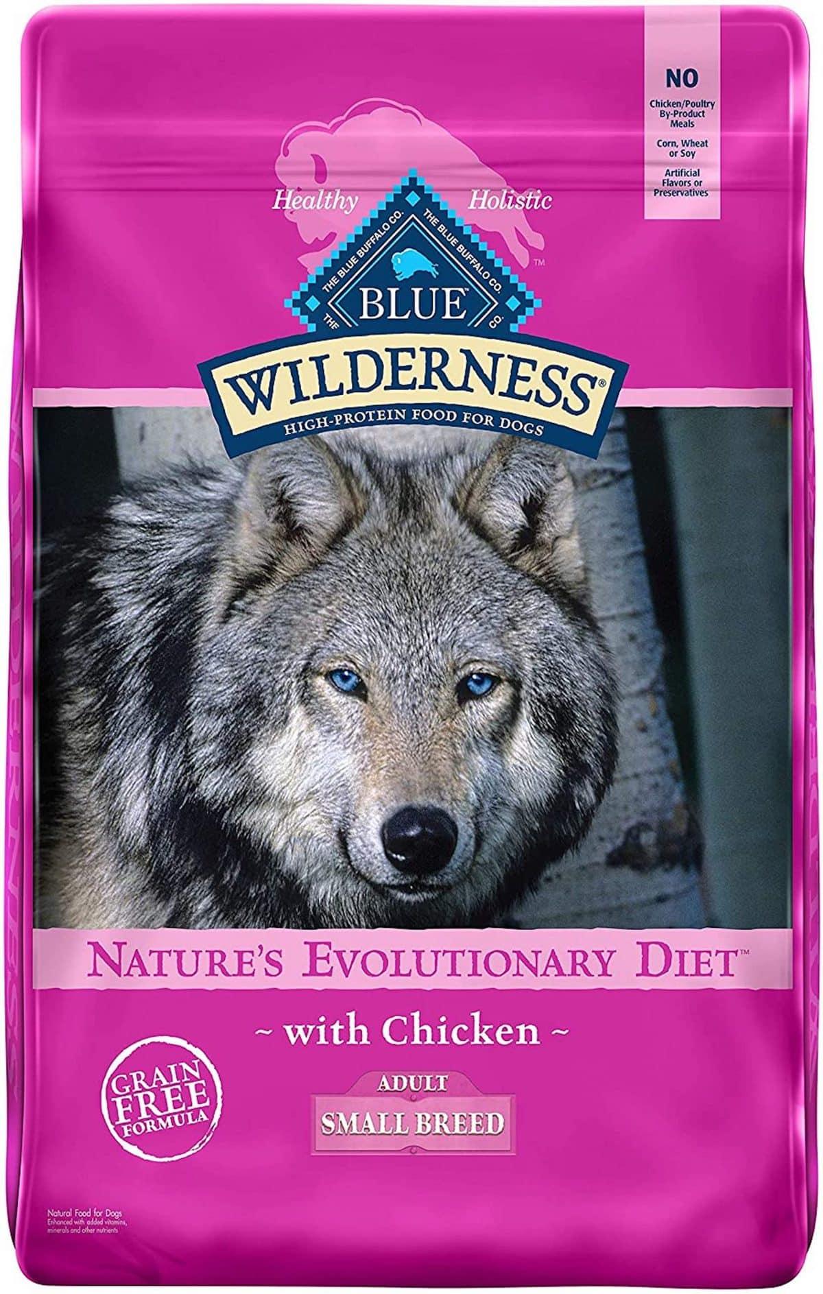 Blue Wilderness Small Breed Chicken Recipe