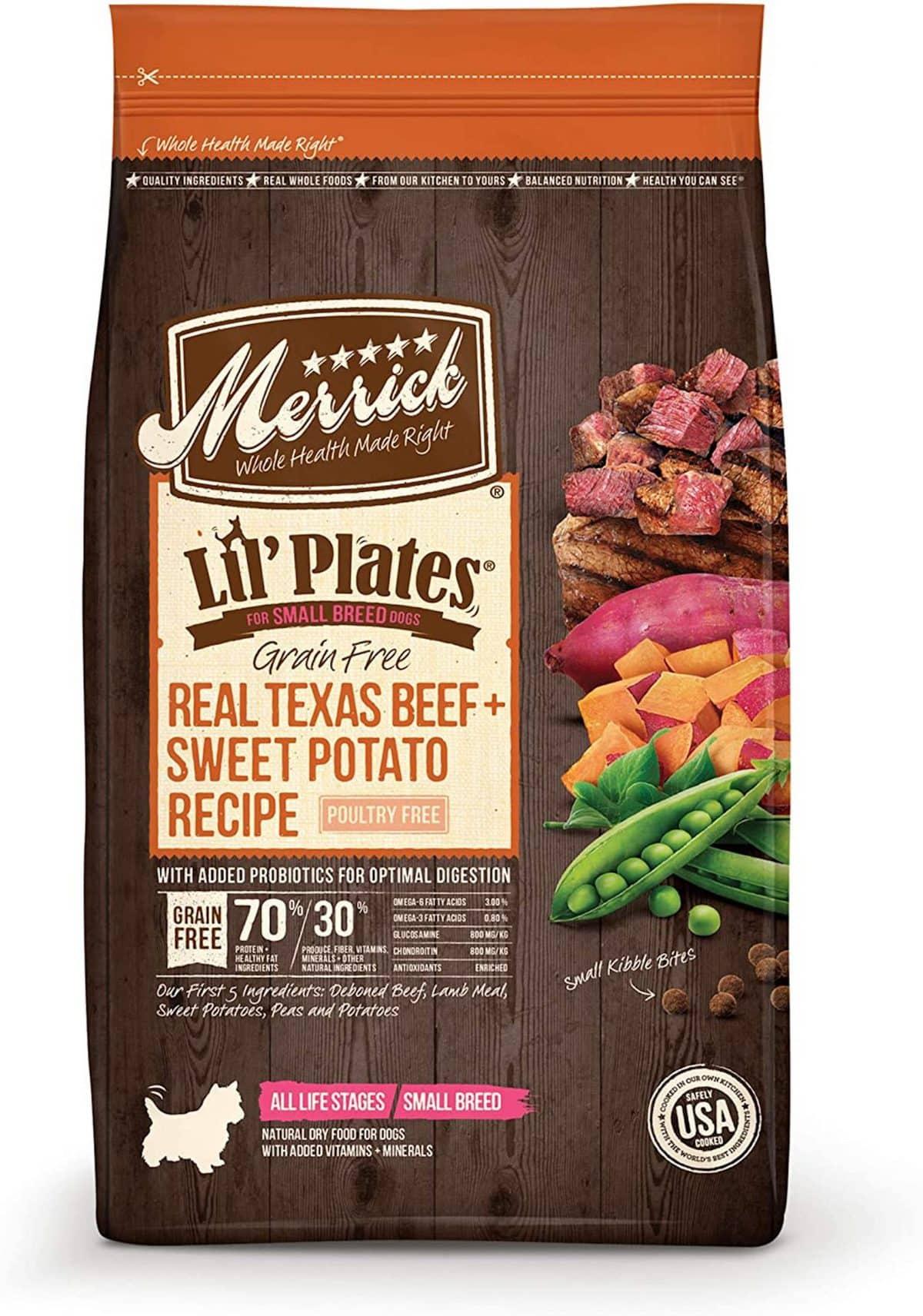 Merrick Lil' Plates Grain-Free Small Breed Recipe