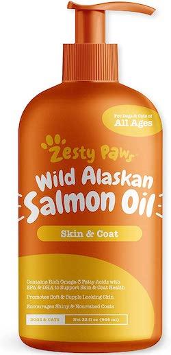 Zesty Paws Pure Salmon Oil