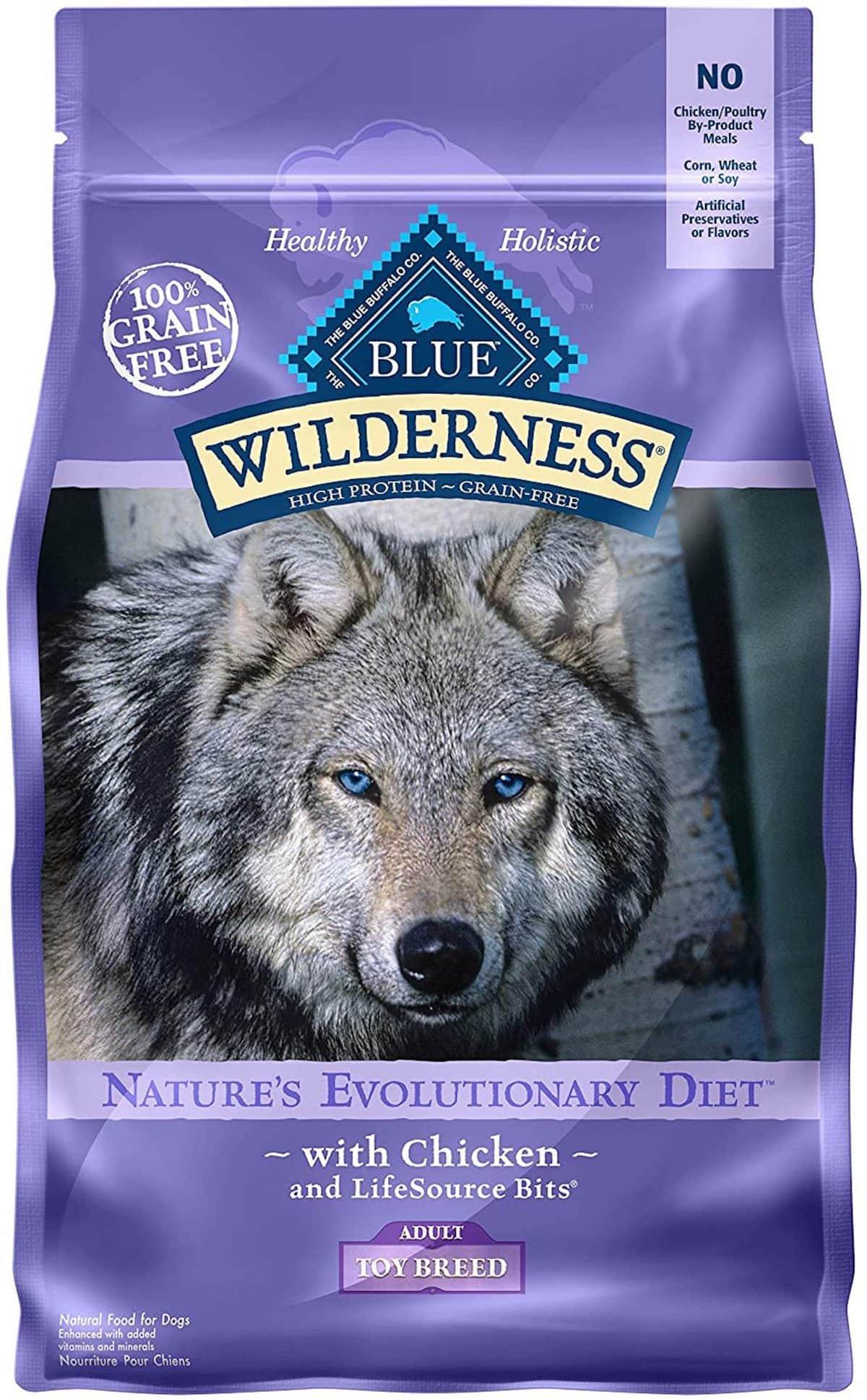 Blue Wilderness Toy Breed Chicken Formula