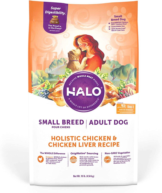 Halo Spot's Stew Small Breed Recipe
