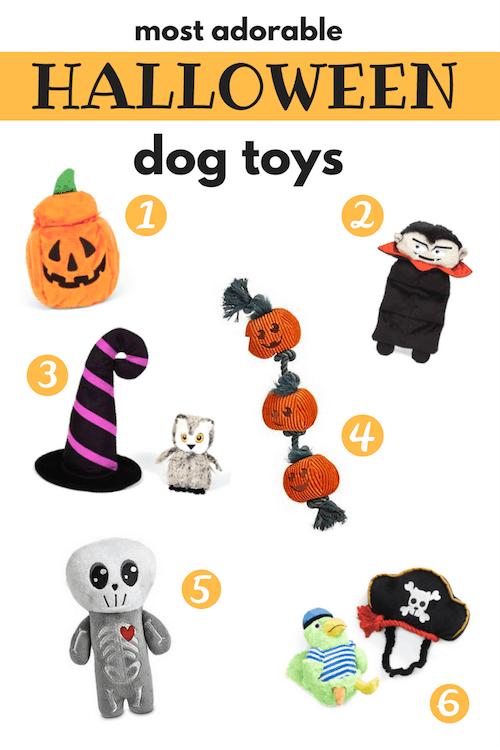 halloween dog toys