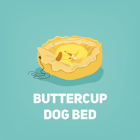 buttercup dog bed small