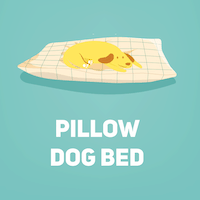 pillow bed small