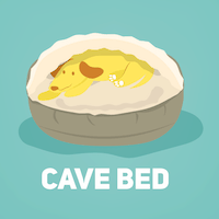 cave bed small