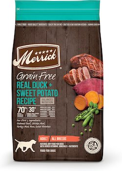 merrick grain free duck