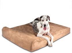 Big Barker Large Bed with Headrest
