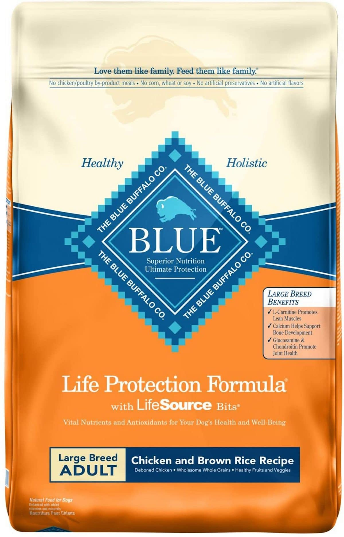 Blue Buffalo Large Breed Chicken and Brown Rice