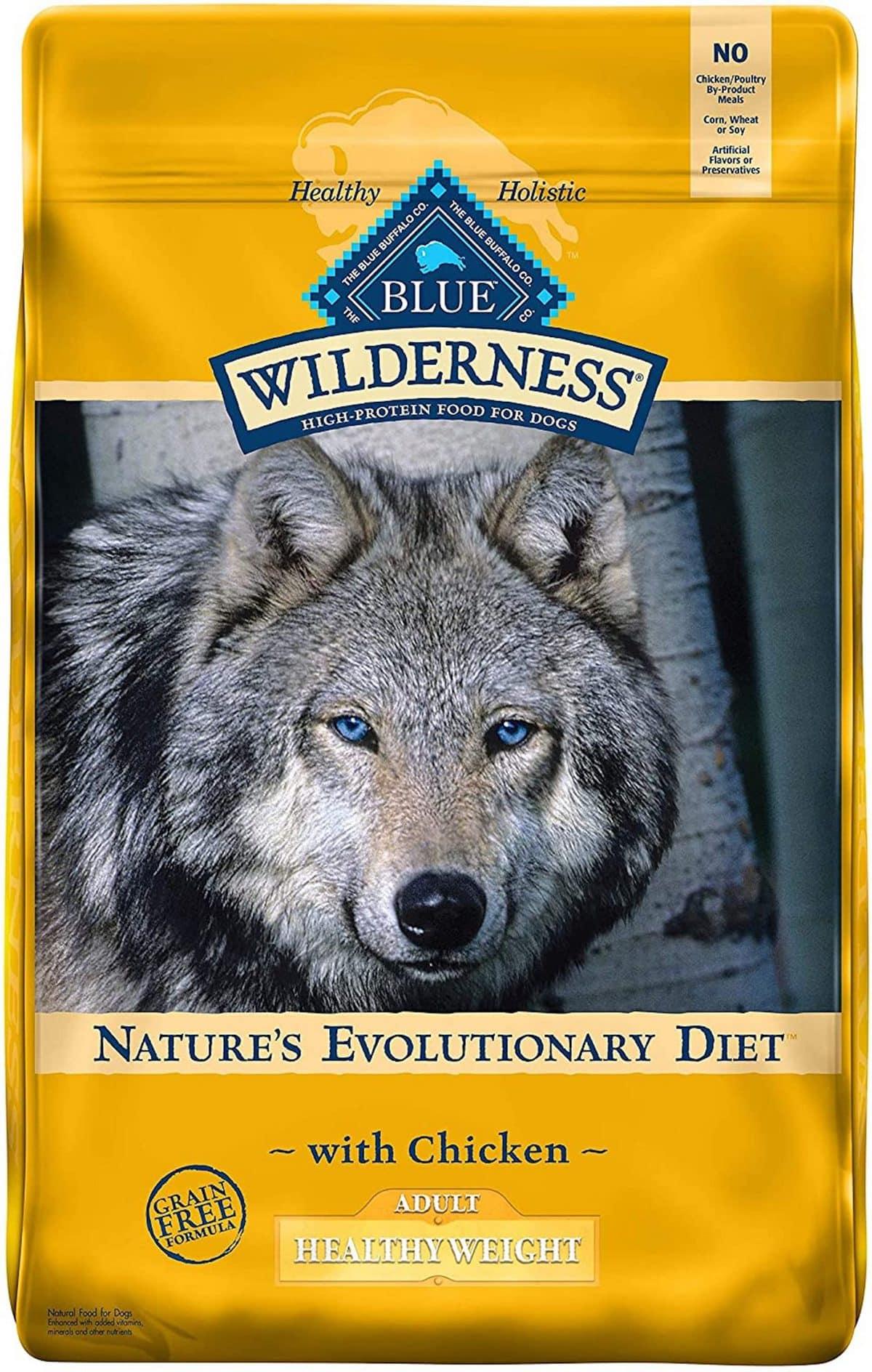 Blue Wilderness Healthy Weight Dog Food