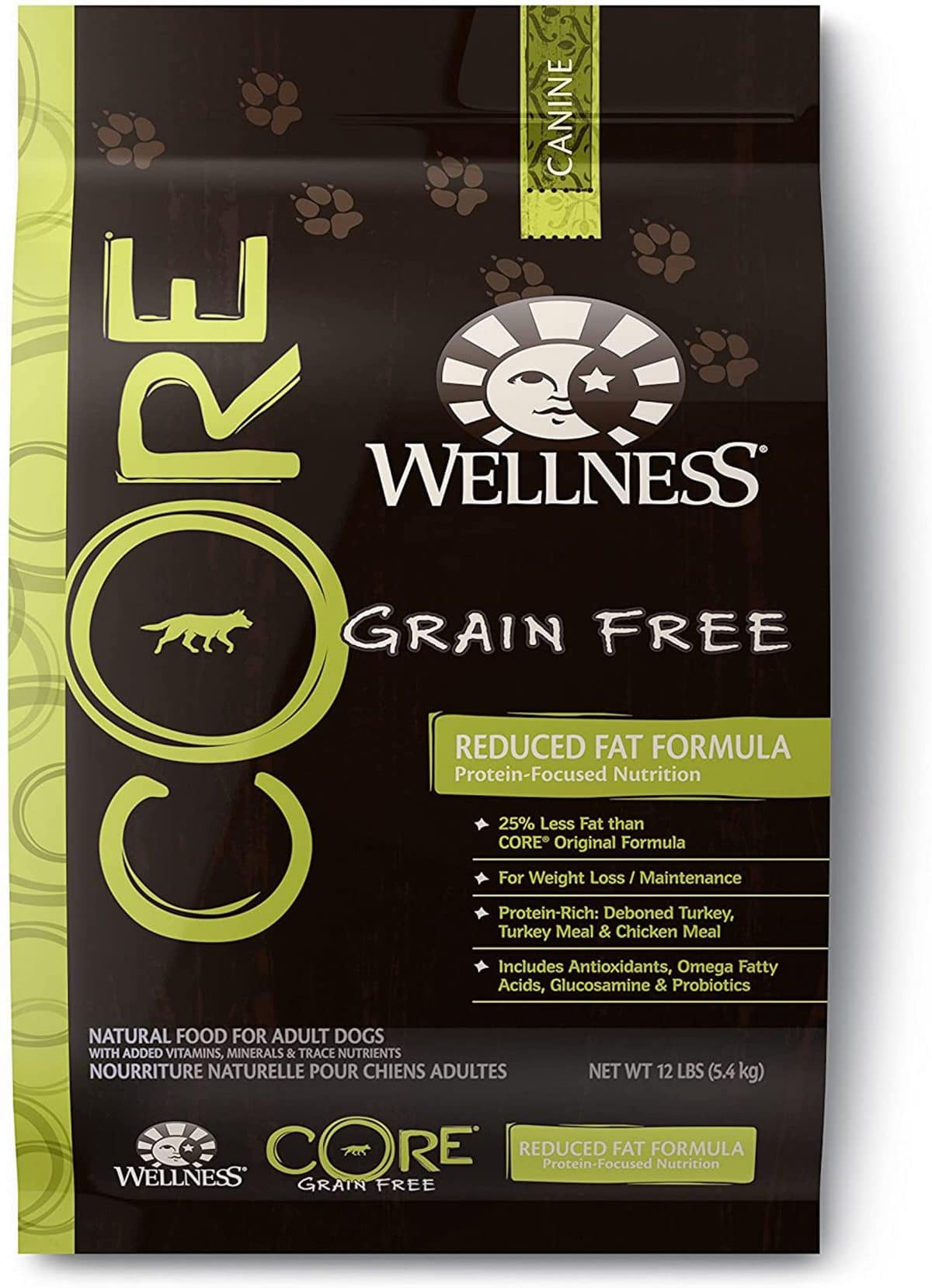 Wellness CORE Reduced Fat Grain-Free Recipe